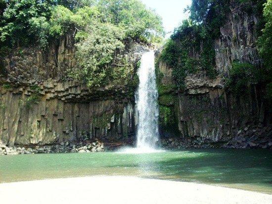 Cathedral Falls, Barangay Waterfalls, Kapatagan Lanao Norte, Mindanao, Philipp