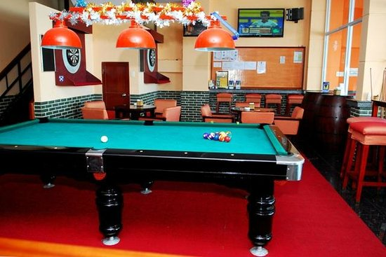 Pool table picture of lucys sports bar and hotel vung tau lucys sports bar and hotel pool table watchthetrailerfo