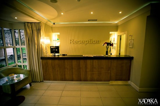 Skeffington Arms Hotel: Reception