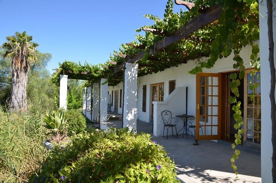 Terra Bianca Guest House: terrasse