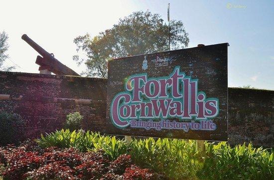 Fort Cornwallis Georgetown Esplanade Padang Kota Lama Penang