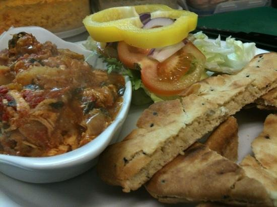 Cafe in the Park :                   just one of the specials available