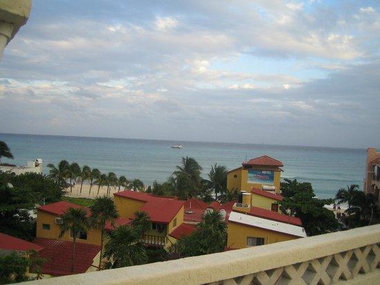 Hotel Labnah :                                     vue de la chambre