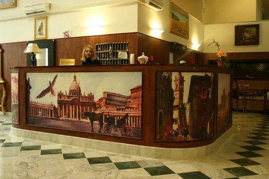 Hotel Palace Nardo: Reception