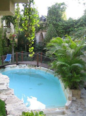 Hotel Labnah:                                     piscine