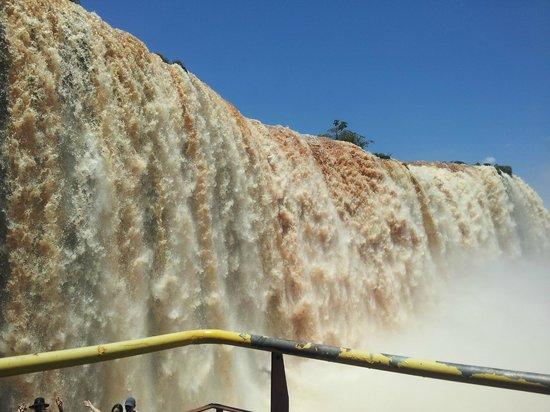 La Sorgente Hotel Posada : les chutes..côté Brésilien..