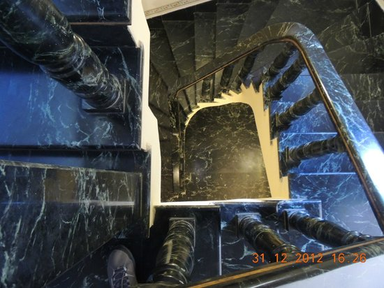 Umaid Mahal:                   Stairs leading to restaurant