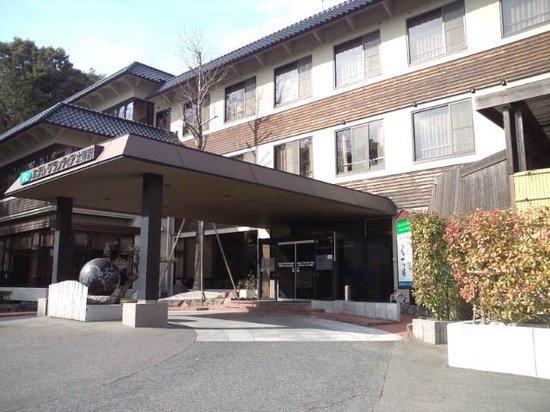Route Inn Grantia Dazaifu:                   ホテル入り口