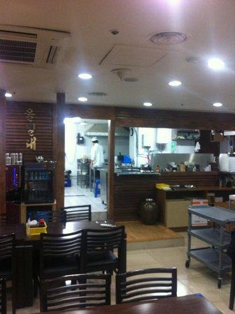 EulMilDae :                   inside restaurant