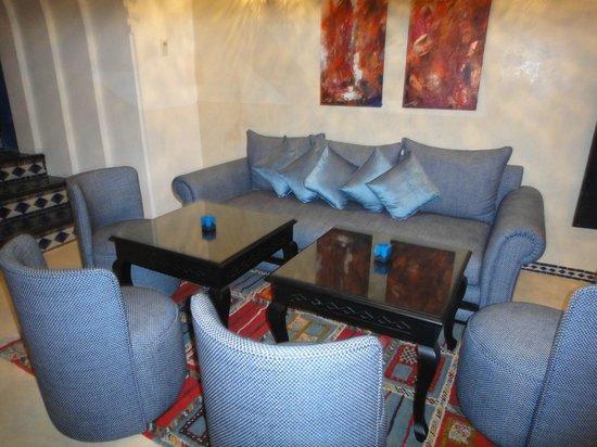 Lina Ryad & Spa:                   ling & dinner room
