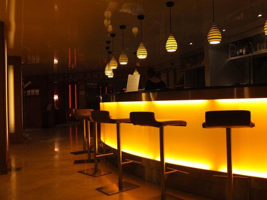 Hôtel Les Corallines :                                     Le bar...