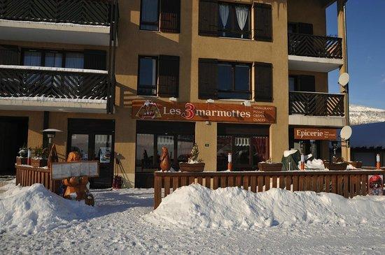 Les 3 Marmottes: le restaurant