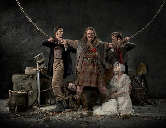 The Edinburgh Dungeon : Our characters