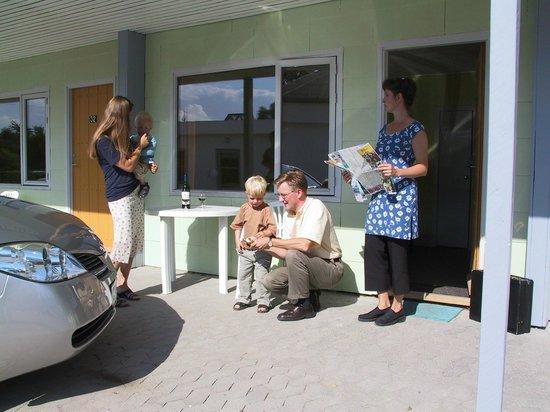Wittrup Motel: Outside Wittrup room