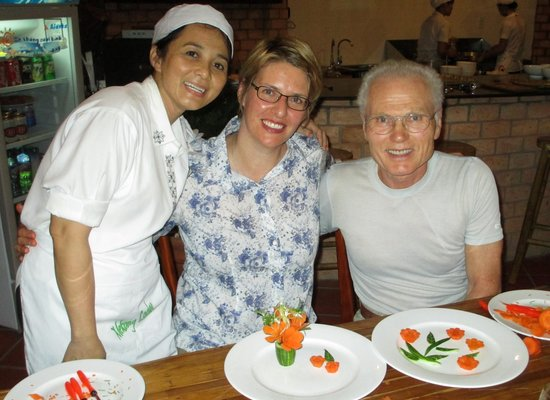 Mekong Lodge Vietnam Day Tour :                                     After the cooking lesson