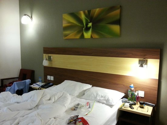 Citymax Hotels Bur Dubai: the bed