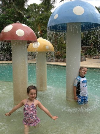 Ashmore Palms Holiday Village:                   Toadstool fun!