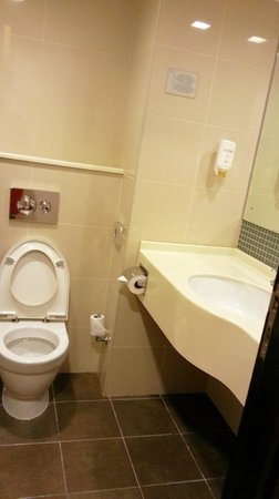 Citymax Hotels Bur Dubai: toilet and basin