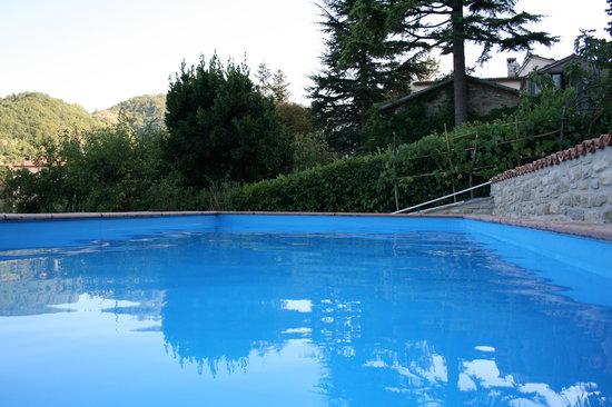 Casa Scheda: La piscina