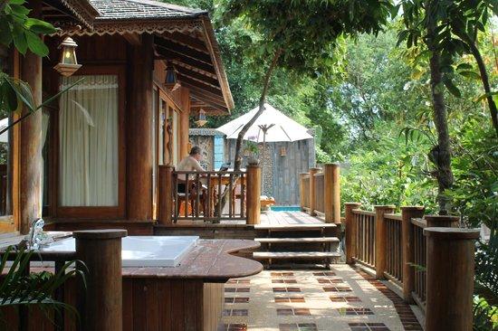 Santhiya Koh Phangan Resort & Spa: Villa Nr. 310 Außenbereich