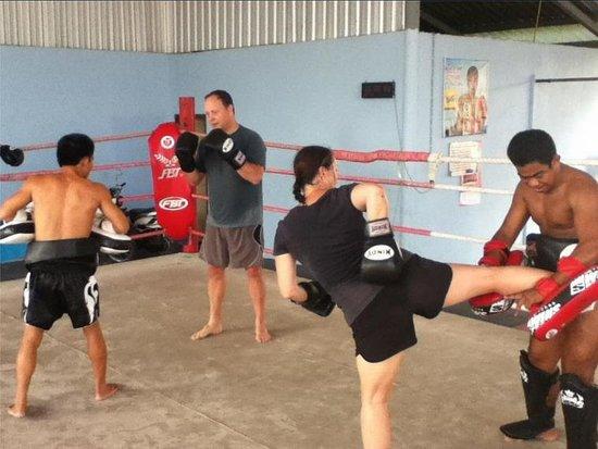 Muay Thai Training Chiang Mai - Imagen de Fresh Start-6504