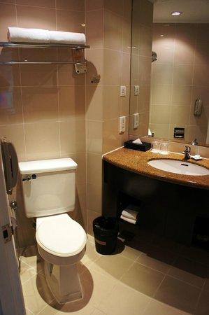 โฮเต็ลโนโวเทล กัวลาลัมเปอร์ ซิตี้เซ็นเตอร์:                   The bathroom