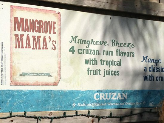 Mangrove Mama's:                   The Place to Be