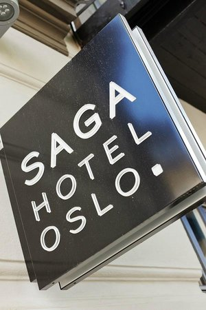 Saga Hotel Oslo: Outside