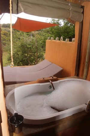 Amakhala Safari Lodge:                   after swim, relax & soak & swim again! pure bliss