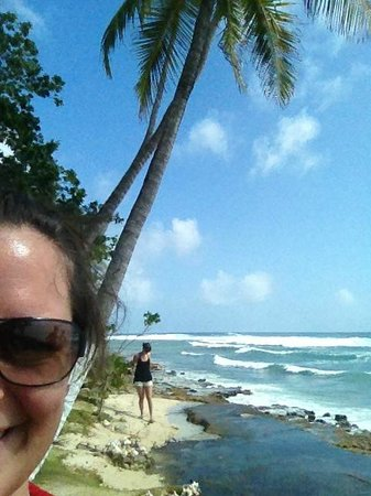 Playa Tranquilo:                   An der Südspitze der Insel