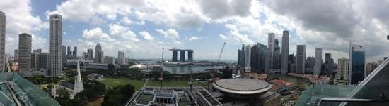 Peninsula Excelsior Hotel: Panarama view from the rooftop lounge