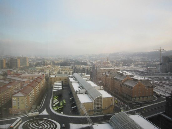 Radisson Blu Plaza Hotel, Oslo: View from Room in 19th floor 2