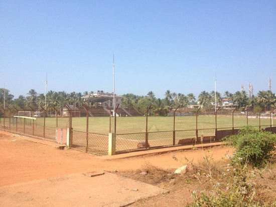 Alor Holiday Resort:                                     the soccer pitch at Alor