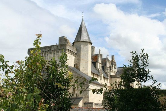 Château de Montsoreau :                   Autre vue du château