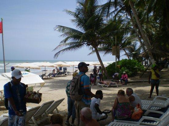 Isla Caribe Beach Hotel:                   playa
