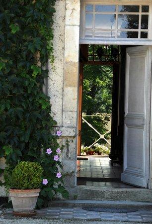 Domaine de l'Ermitage : L'Ermitage, l'entrée...