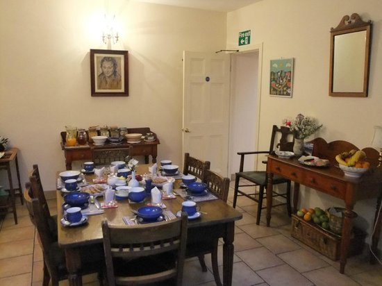 The Saddlers House and the Old Rectory: Breakfast room