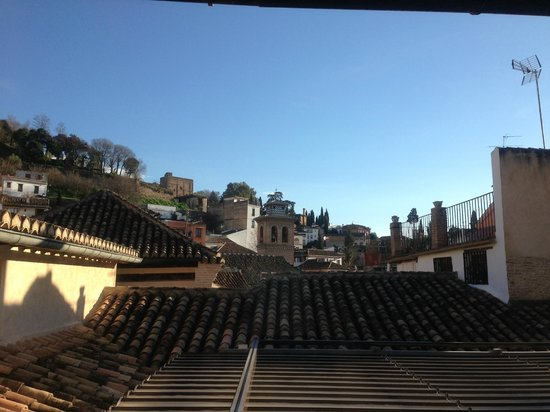 View from corridor outside room picture of hotel casa 1800 granada granada tripadvisor - Hotel casa 1800 granada ...
