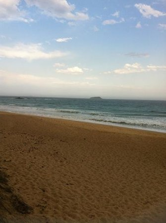 Aqualuna Beach Resort:                   access to sapphire beach , such a beautiful beach , so quite like ur very own