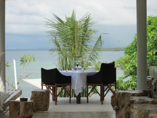 The Lombok Lodge:                   Intimate dining