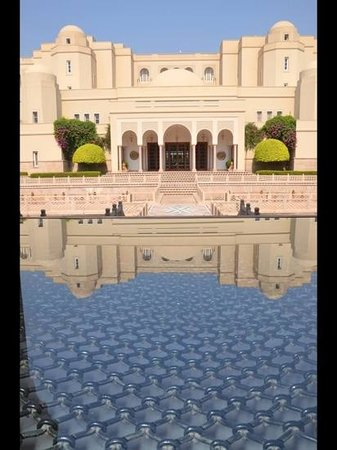 The Oberoi Amarvilas:                   View of the Hotel entrance