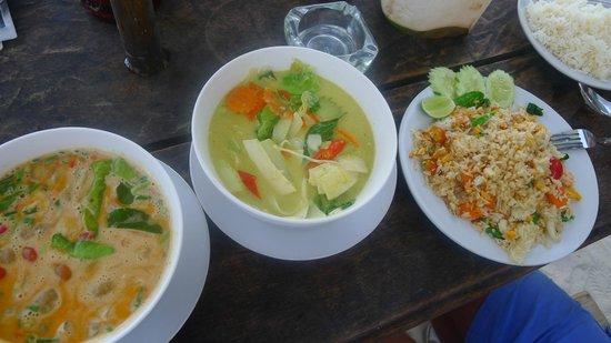 Les plats thailandais photo de jasmine restaurant ko for Jasmine cuisine