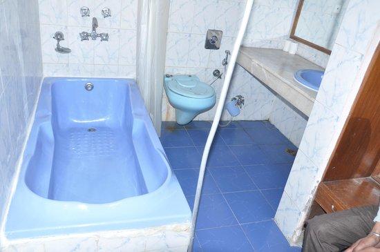Hotel Madhuvan: Elegant Bathroom