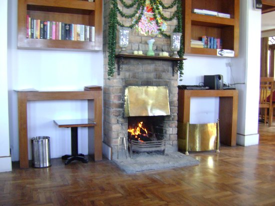 Shangrila Regency :                   fire place at restaurant