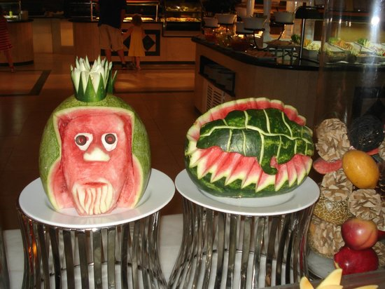 Grand Bahia Principe Jamaica:                   food art