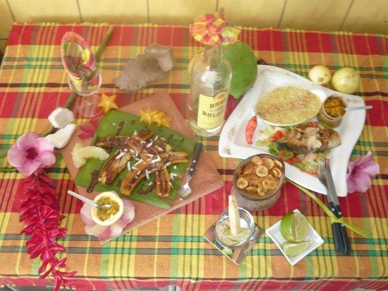 Jangal Cafe:                   Belles assiettes