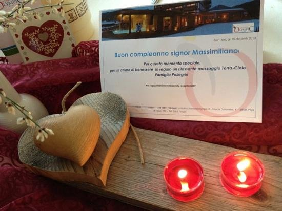 Active Hotel Olympic:                   compleanno