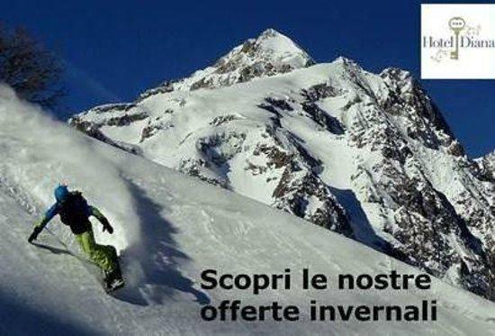 Hotel Diana : Sciare in Valle D'Aosta