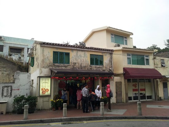 Coloane: The sought after lord stow's bakery. They sell sandwiches, salad but the egg tarts are a MUST