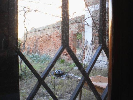 Ostello Santa Fosca:                                     ce qu'on voit de la chambre que j'occupais